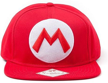 Nintendo BIO - Gorra Logo Mario: Amazon.es: Juguetes y juegos