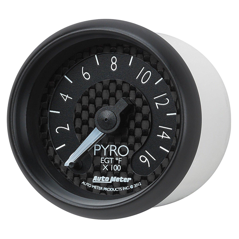 Auto Meter 8044 GT Series Electric Pyrometer/EGT Gauge by Auto Meter (Image #8)