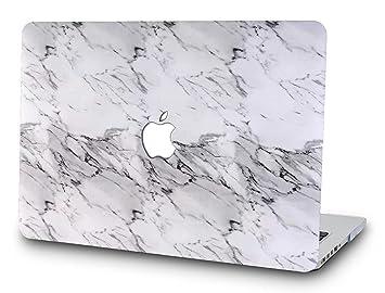MacBook Pro Estuche con cubierta de mármol de 13 pulgadas, SAYA Serie Profesional Estuche liviano de Apple para el modelo A 1278 sin retina