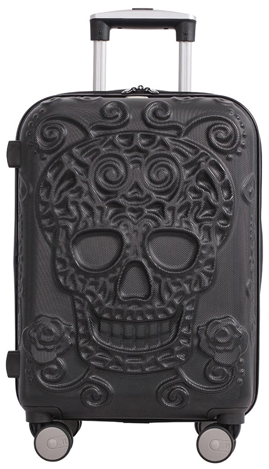 It Luggage Skulls 21 Quot Carry On Spinner Black My Sugar
