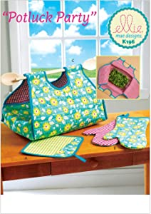 KWIK-SEW PATTERNS K0196 Potholder/Mitts and Casserole Carrier, One Size only