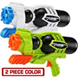 MAPIXO 2 Pack Super Water Gun(No Leaking), High Capacity Water Shooter Soaker Blaster Squirt Toy for Swimming Pool Party Sand
