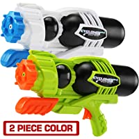 MAPIXO 2 Pack Super Water Gun(No Leaking), High Capacity Water Shooter Soaker Blaster Squirt Toy for Swimming Pool Party Sand Beach Game Outdoor Summer FightActivity for Child Kid boy and Girl