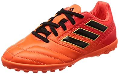 best website ddb41 f0ddd adidas Ace 17.4 TF J Chaussures de Football garçon, Multicolore OrangeCore  Black