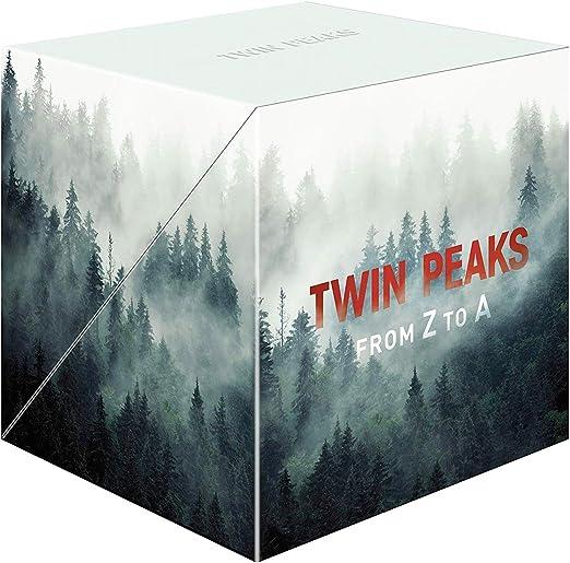 Twin Peaks: From Z to A (Edición Limitada) [Blu-ray]: Amazon.es: Kyle MacLachlan, Michael Ontkean, Mädchen Amick, Mark Frost, David Lynch, Kyle MacLachlan, Michael Ontkean, Lynch/Frost Productions, Propaganda Films, Spelling Entertainment: Cine y
