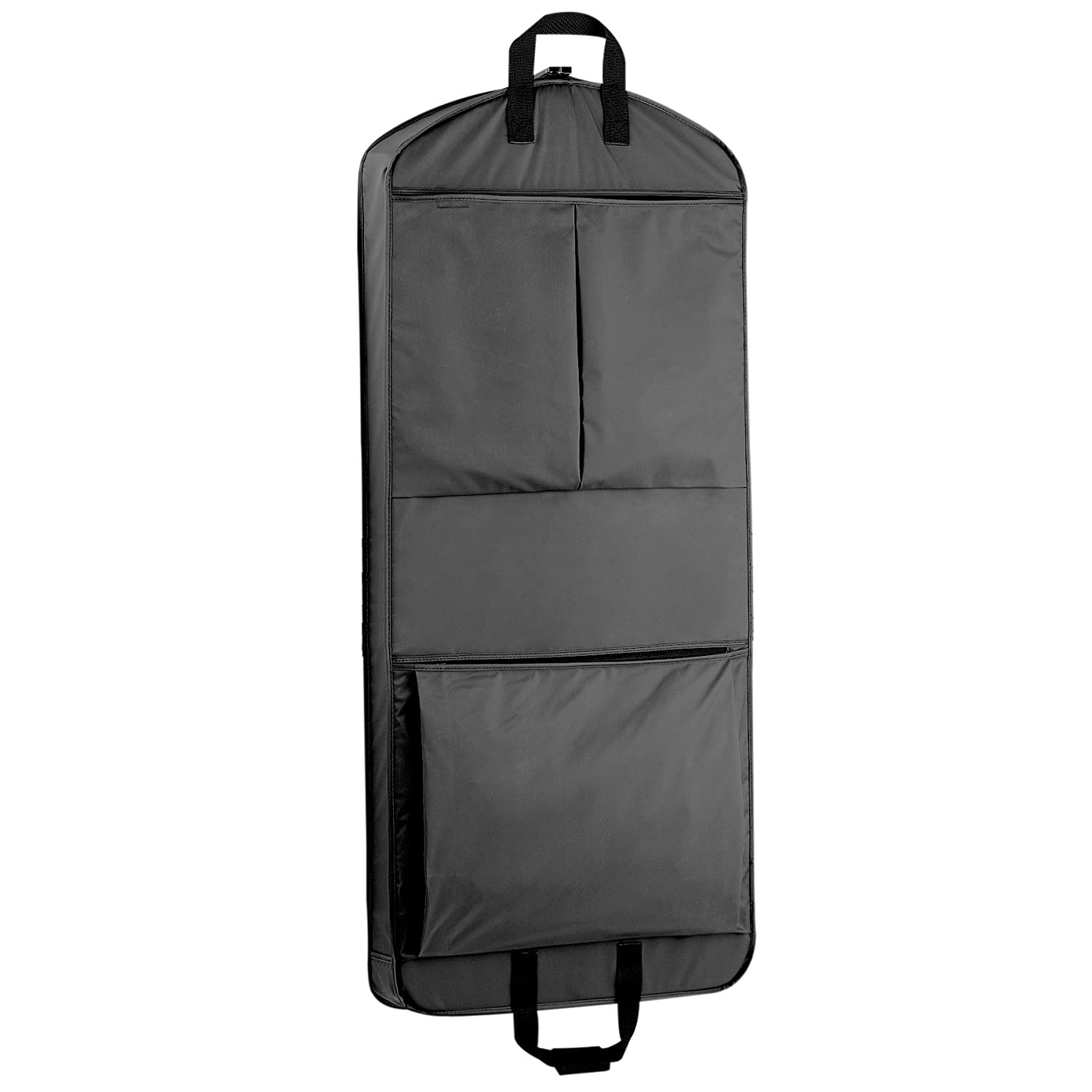 WallyBags 52 Inch Extra Capacity Garment Bag with Pockets, Navy, One Size 859