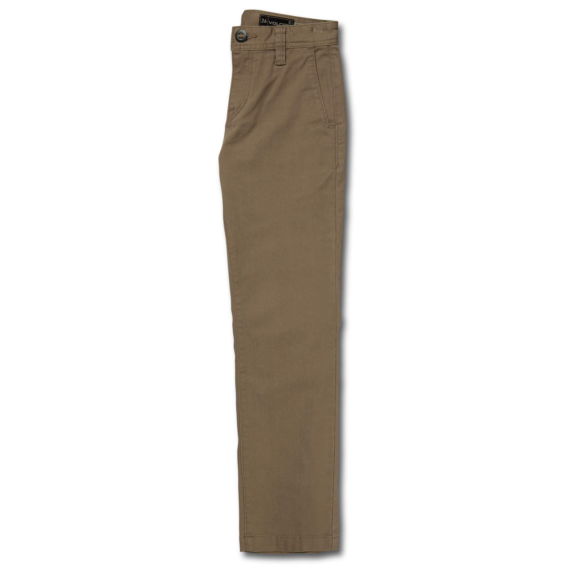 Volcom Big Boys Frickin Regular Fit 15'' Chino Pant, Khaki, 23 by Volcom (Image #3)