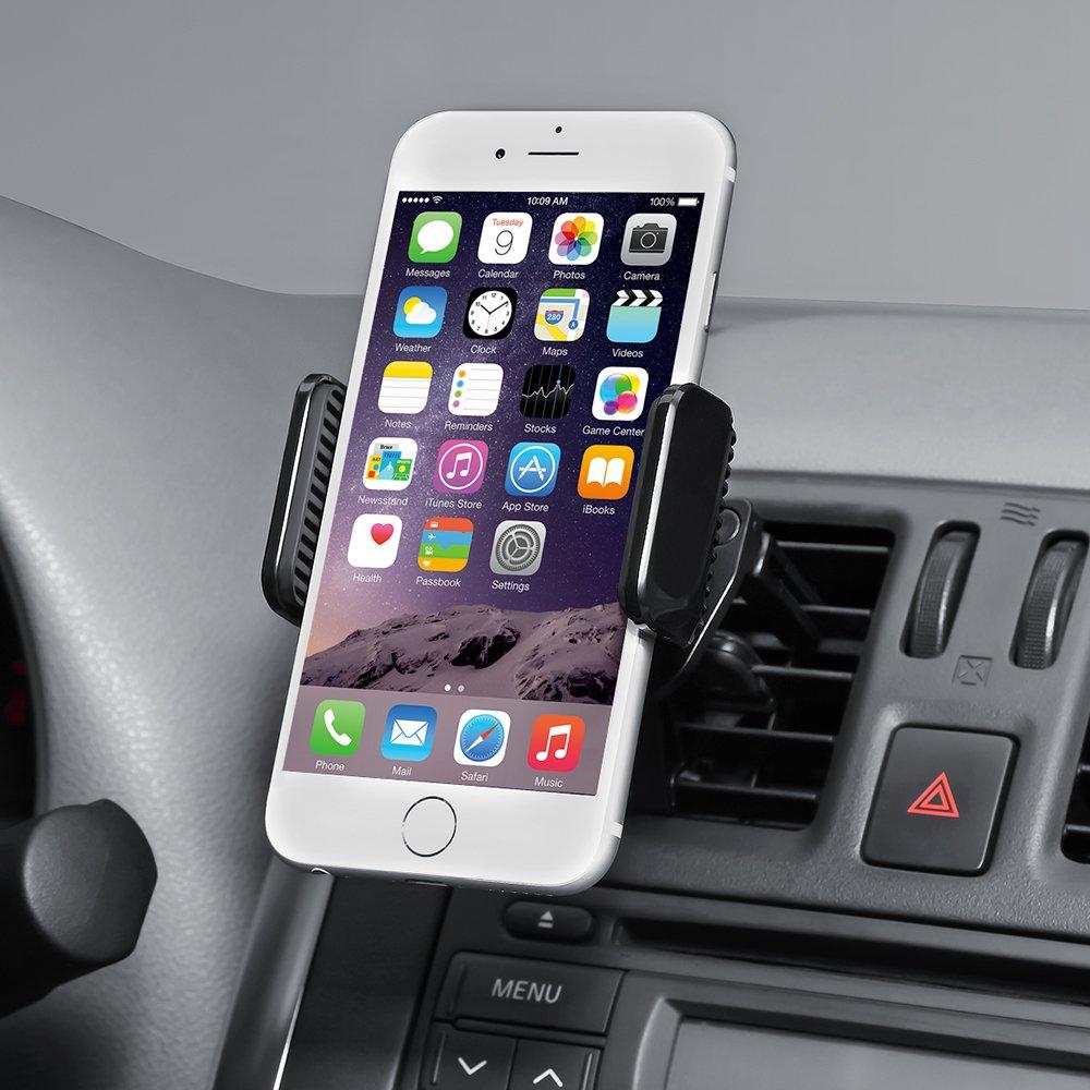 AVANTEK Universal Car Mount Air Vent Phone Holder with 360 Degree Rotation  Car Phone Holder
