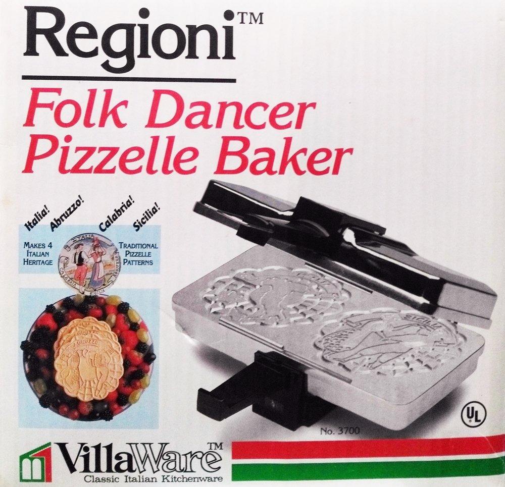 VillaWare Polish Regioni Folk Dancer Pizzelle Baker