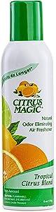 Citrus Magic Natural Odor Eliminating Air Freshener Spray Tropical Citrus Blend, 6.0-Ounce