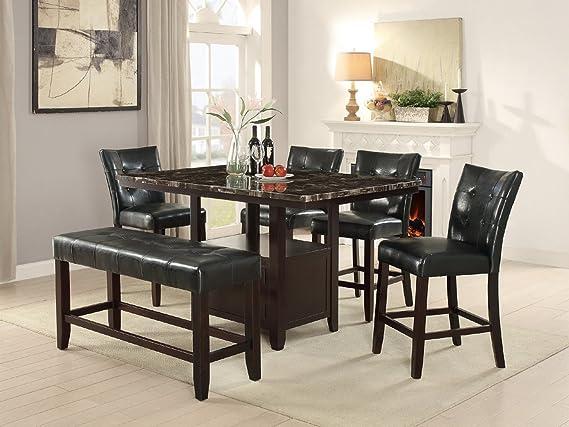 Amazon.com: Moderna silla de comedor de estilo parson de ...