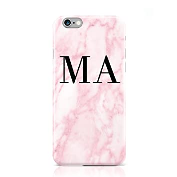 marble initial phone case iphone 8 plus