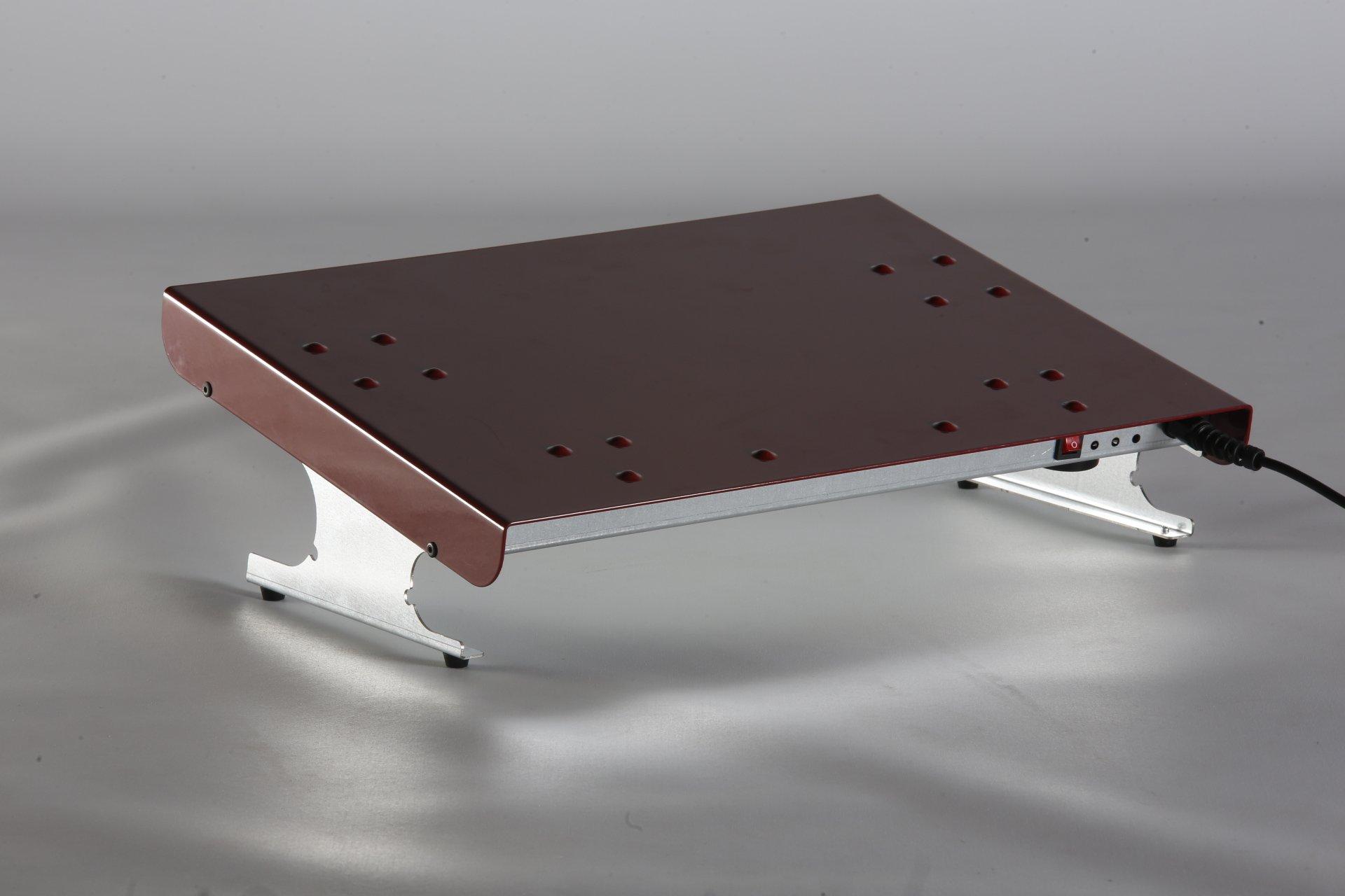 CALIENTA PIES DIFUTERM OFFIS MÁS EFICIENTE Calienta pies con un bajo consumo 60w diseñado para calentar