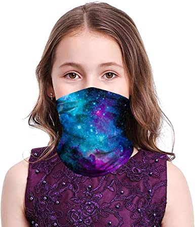 Bandana Neck Scarf Head Band Camouflage Rainbow Cotton Face Covering Protection