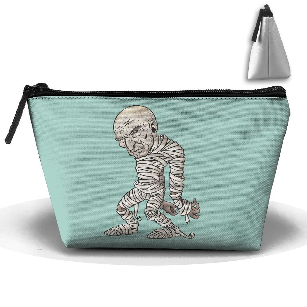 Unisex Stylish And Practical Halloween Funny Mummy Cartoon Cool Trapezoidal Storage Bags Handbags hot sale
