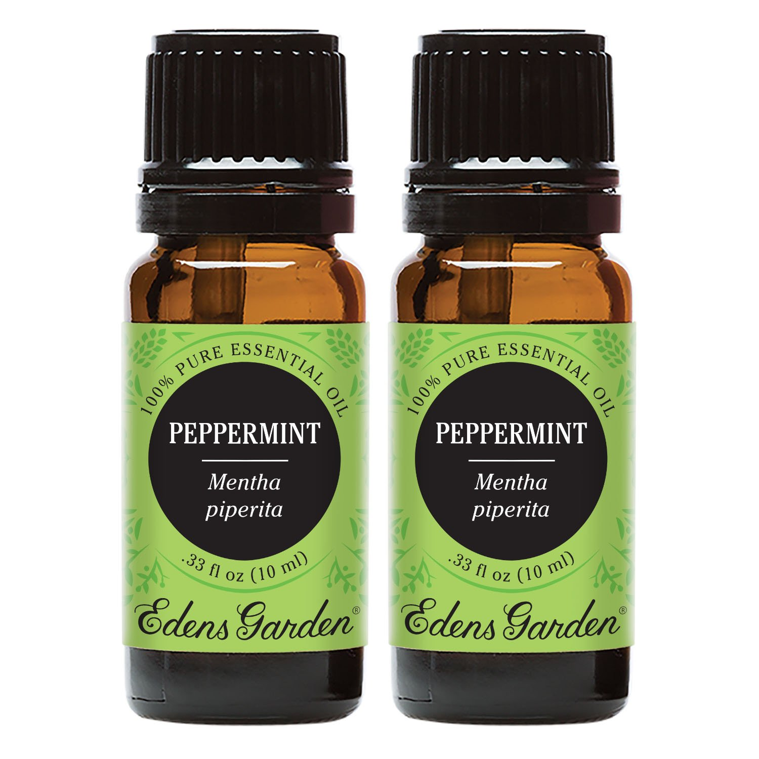 Edens Garden Peppermint Value Pack 100% Pure Undiluted Therapeutic Grade Essential Oil GC/MS Tested