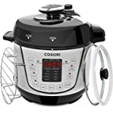 COSORI Electric Pressure Cooker 2 Quart Mini 7-in-1 Multi-Functional, Programmable Non-Stick Steam Rice Cookware, 800W