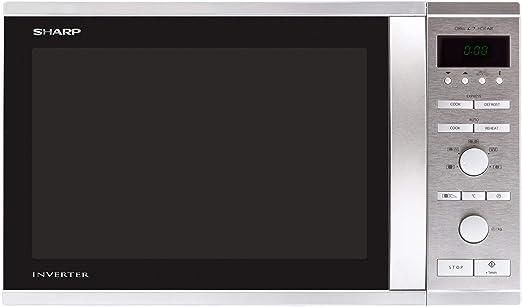 Sharp R-941STW - Microondas (37,5 cm, 39,5 cm, 27,2 cm) Acero ...