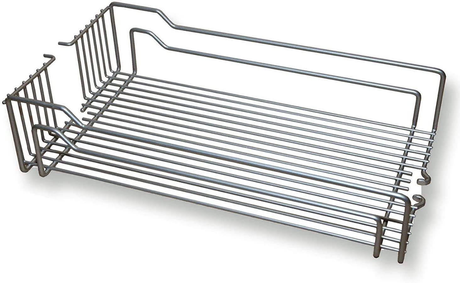 Colgado Cesta 250 x 467 x 110 mm para el Sistema de Almacenaje Dispensa de Kesseb/öhmer Cesta Met/álica para Mueble de 30