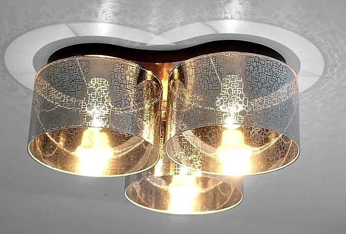Wero plafón Design Lámpara plafón de Malaga - 003 Plata ...