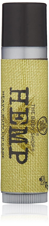 The Body Shop Hemp Heavy Duty Lip Care, 0.14 Oz