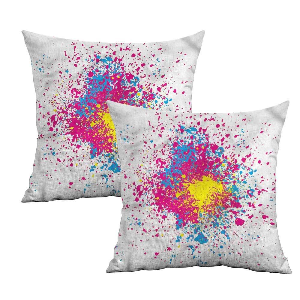 Amazon.com: Khaki Home Collage Funda de almohada cuadrada ...