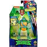 Rise of The Teenage Mutant Ninja Turtle Leonardo Backflip Ninja Attack Deluxe Figure