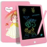 """TEKFUN Toddler Toys Age 3-5 Girls Gifts for 3 4 5 6 7 Year Old, LCD Writing Tablet Drawing Board 8.5"""" Colorful Drawing Pad fo"""