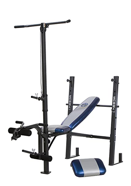Amazon.com: marcy classic mcb 347 standard bench with lat bar