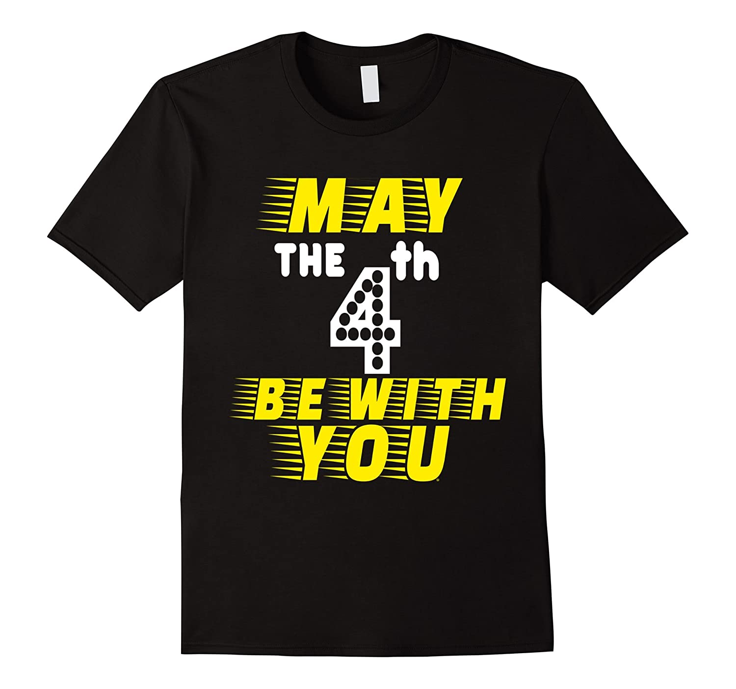 May The 4th Be With You Merchandise: May The 4th Be With You Funny T-Shirt