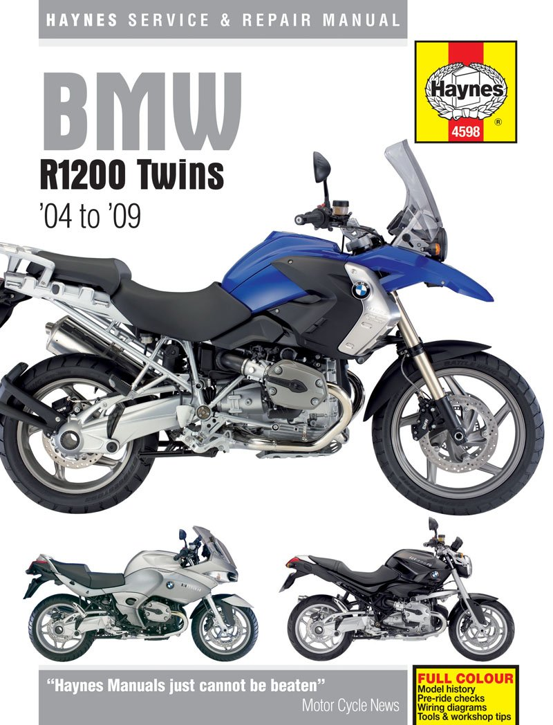 Bmw R1200 R1200gs Adventure R1200r R1200rt 2004 2009 Haynes Manual Yamaha Xt125x Wiring Diagram Car Motorbike