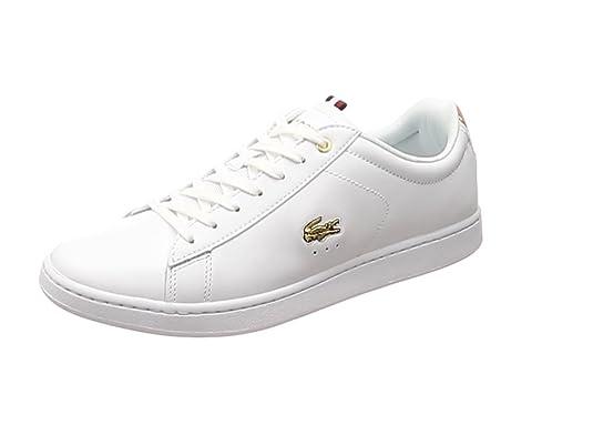 LACOSTE Zapatillas Carnaby Evo 118 3 45 Blanco