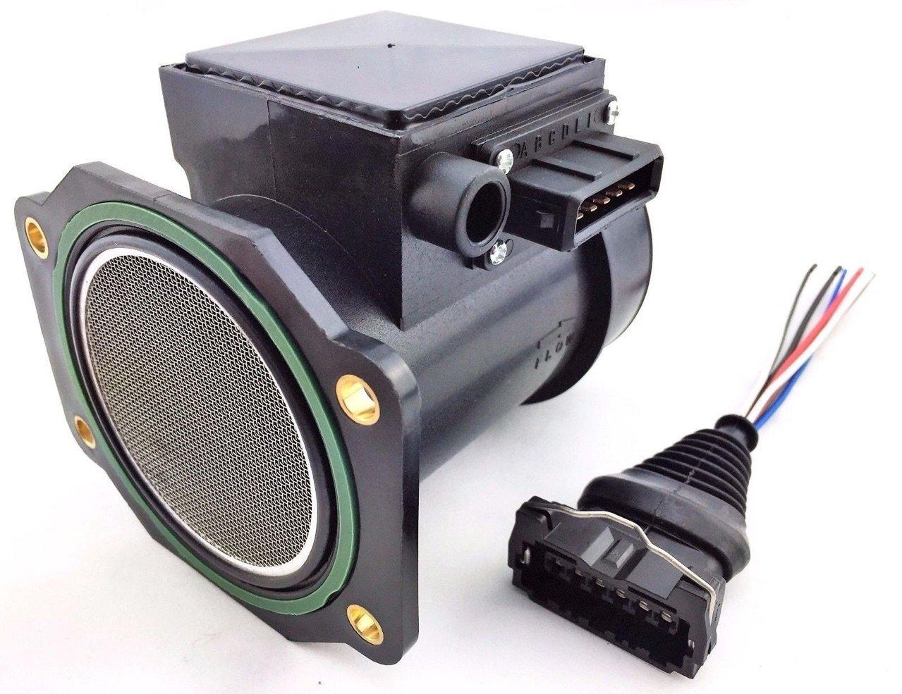 NISSAN 300ZX INFINITI 90-96 J30 3.0L Mass Air Flow Meter Sensor with Wire Harness - 80MM AFM MAF UPGRADE 180SX 200SX 240SX SILVIA SKYLINE Napol Performance