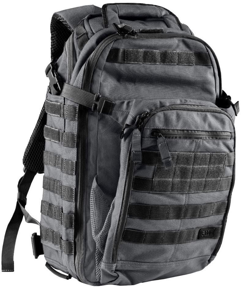 5.11Tactical All Hazards Prime Assault Backpack, Molle Bag Rucksack Pack, 29 Liter Medium, Style 56997, Double Tap