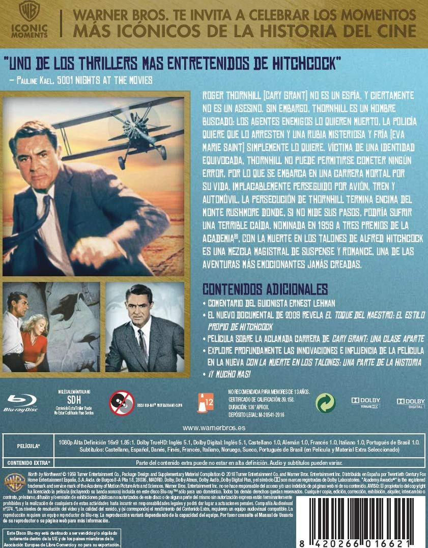 north by northwest subtitulos español