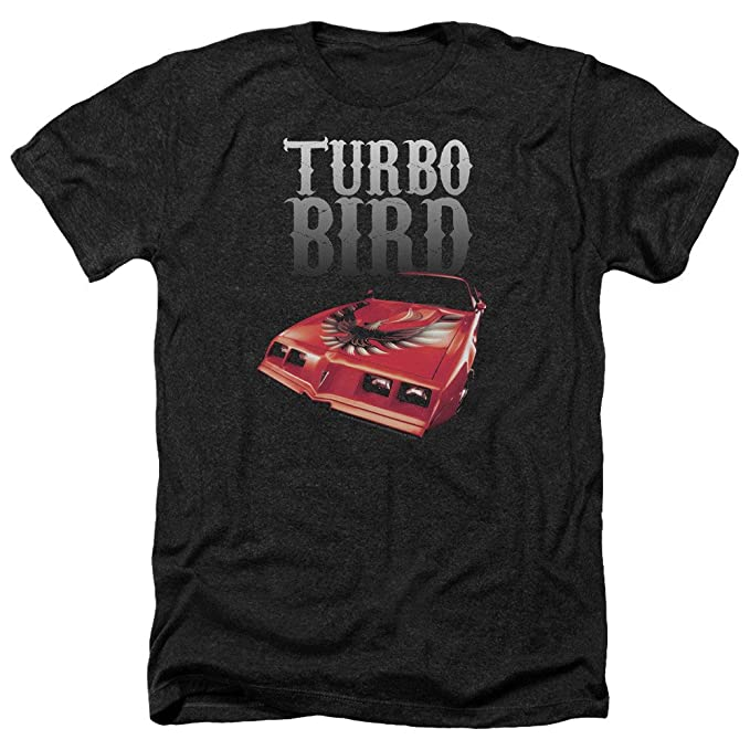 Pontiac Turbo pájaro adulto Slim Fit Rosa de manga corta camiseta: Amazon.es: Ropa y accesorios