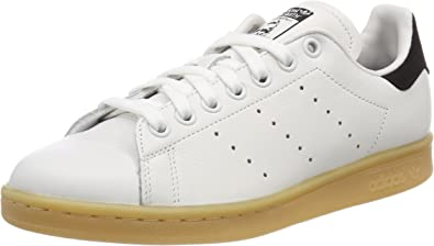 adidas Originals Women's Stan Smith, White (Crystal White/Crystal  White/Core Black 0), Women 2
