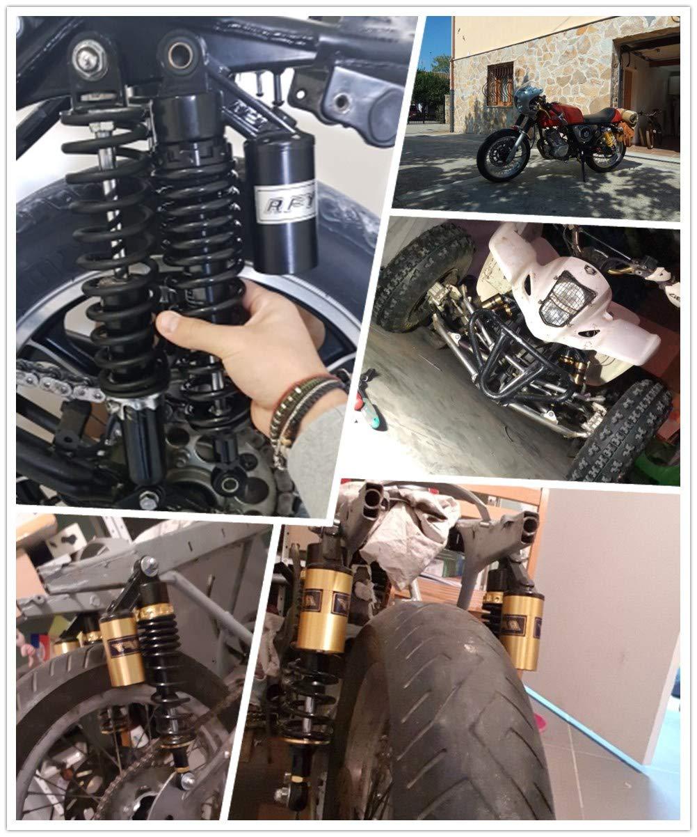 PinShang Amortisseur de Chocs arri/ère pour Moto Yamaha Scooter ATV Quad