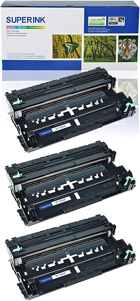 Black,1 Pack SuppliesOutlet Compatible Drum Unit Replacement for Brother DR820 to Use with HL-L6400DW