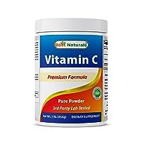 Best Naturals 100% Pure Vitamin C Powder 1 lb (454 Grams) Powder (Also Called Ascorbic...