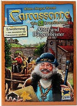 Hans im Glück HIGD0110 Carcassonne partidor y Alcalde: Amazon.es: Juguetes y juegos