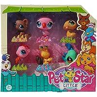 petstar 6'lı Minik hayvanlar Ailesi Oyuncak