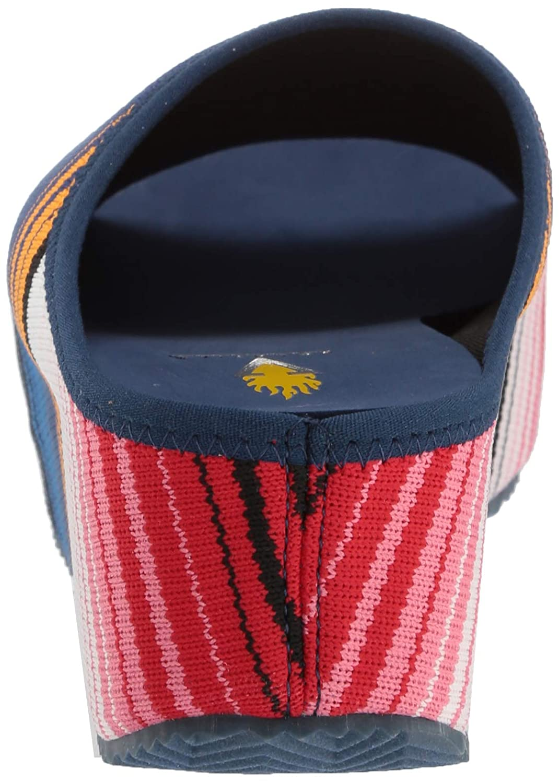 Volatile Womens Zebrasky Slide Sandal