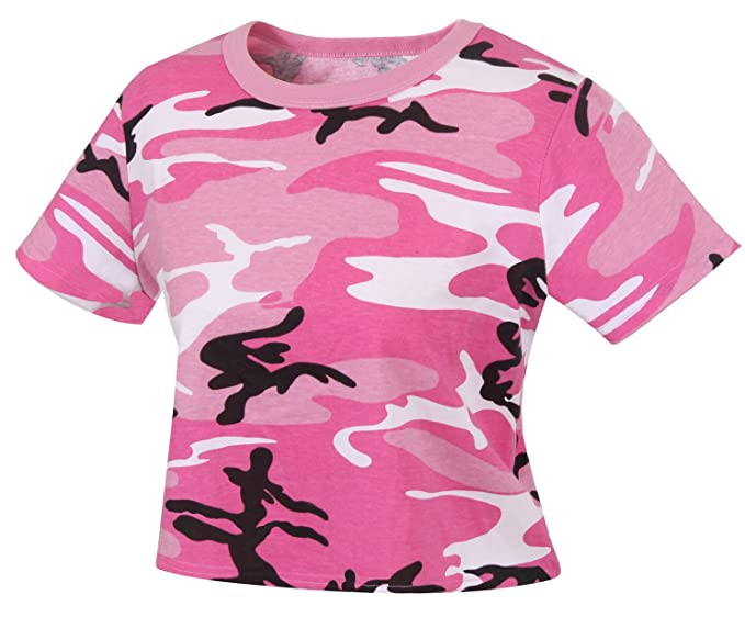 a939408e226 Amazon.com: Rothco Women's Camo Crop Top: Clothing