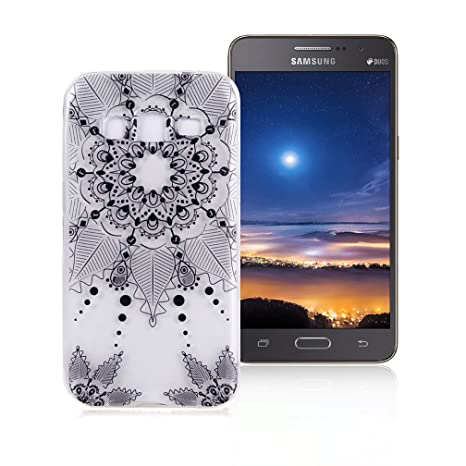 XiaoXiMi Funda Samsung Galaxy Grand Prime G530 Carcasa TPU Transparente Funda de Silicona Caucho para Samsung Galaxy Grand Prime G530 Soft Silicone ...