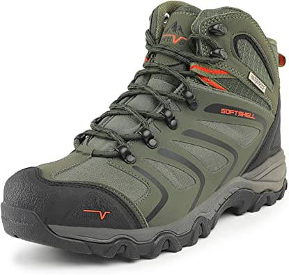 Amazon.com | NORTIV 8 Men's Ankle High Waterproof Hiking Boots Outdoor  Lightweight Shoes Trekking Trails | Hiking Boots