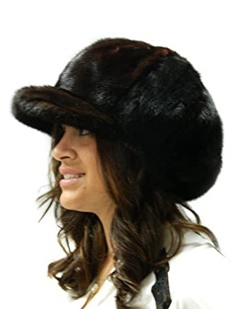 Mink Applejack Oversize Hat - Unisex at Amazon Women s Clothing store  db5649709d4