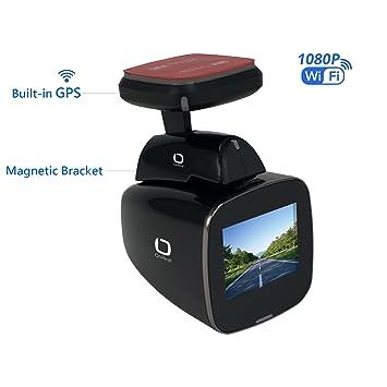 """OnReal cámara del vehículo 1080P con Incorporado WiFi GPS 1.5""""Pantalla 150 Grados Angular de"""