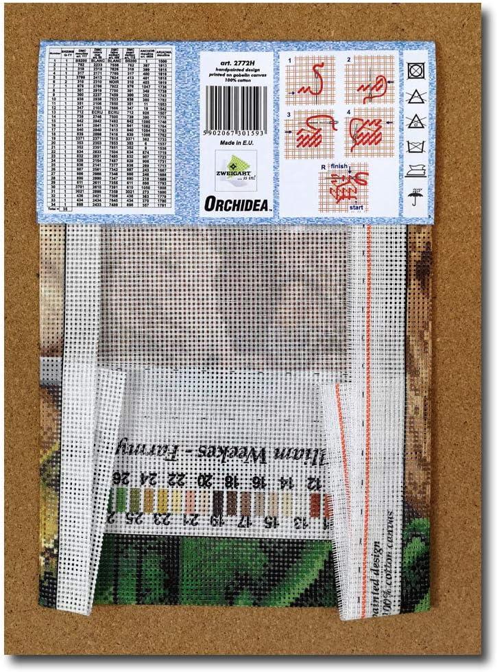 Orchidea Farmyard Friends canovaccio Senza Filati 24x30cm 2772H