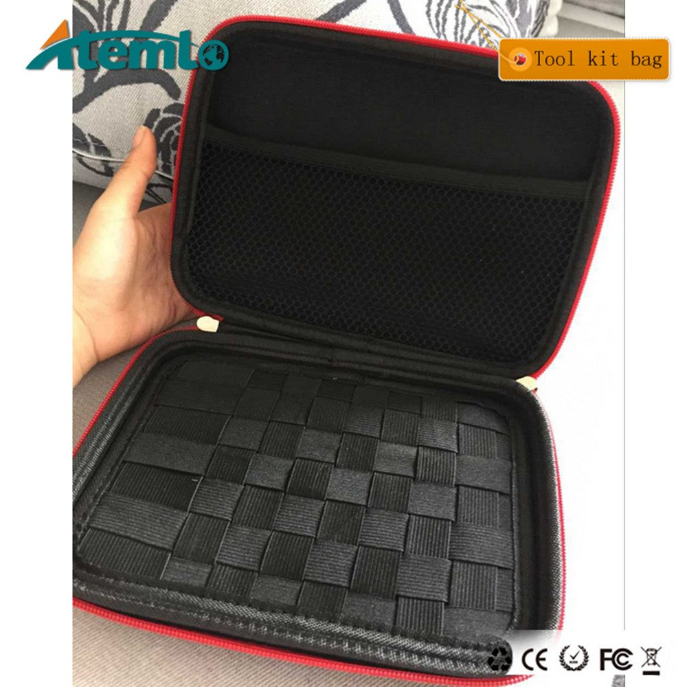 Atemto Kbag Portable Case Tools Bag for Packing Coil Wire Cotton Tweezer Supplys & Universal Accessories (Case Only)